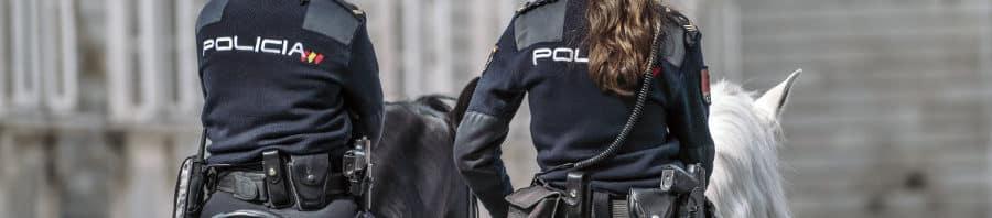 seguros para la policia y la guardia civil
