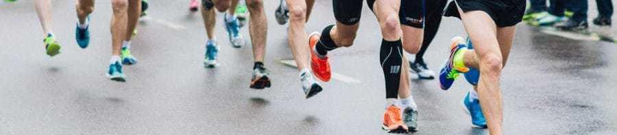 corredores maraton