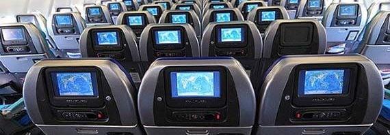 asientos en el avión más seguros