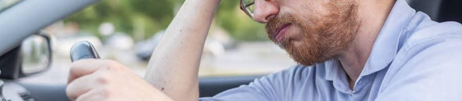 Multas y sanciones por conducir sin seguro