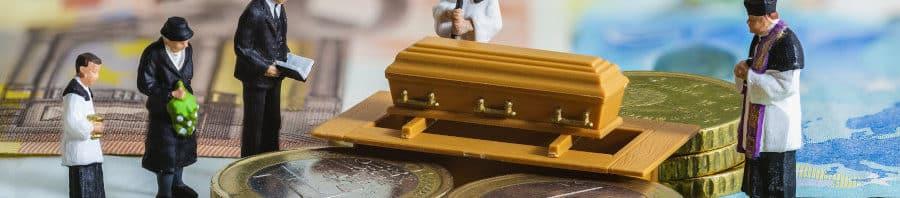 Anticipo para gastos de sepelio del seguro de vida y seguro de decesos