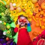 Alimentación saludable: guía de frutas y verduras por colores