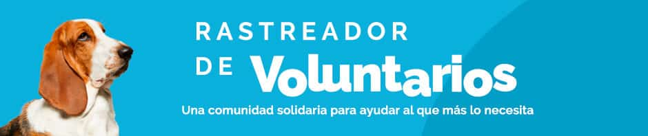 rastreador voluntarios
