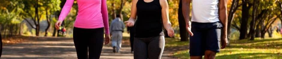 caminar para perder peso y reducir grasa abdominal